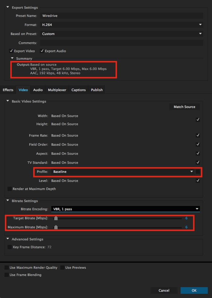handbrake blu ray settings 720p vs 1080p
